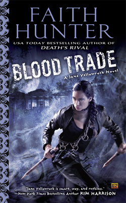 BLOOD TRADE book cover - Urban Fantasy / Paranormal
