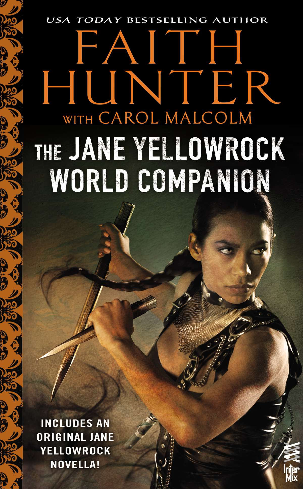 Jane Yellowrock World Companion book cover - Urban Fantasy / Paranormal